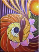 Harmeet Arora Supreme Bliss ART 000001 Abstract Realism Painting