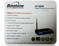 Binatone DT 850W Wireless Router & Wi-fi