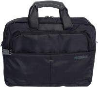 American Tourister AT Speedair Laptop Portfolio 15.4 inch Laptop Bag (Black)