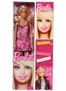 Barbie Doll - Rose Print Dress