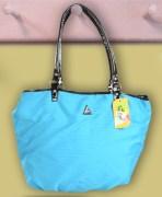 Chic Blue Handbag