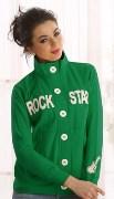 Cloe Green 100 % Blended Lounge Wear