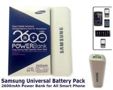 Samsung 2600 mAh Power Bank