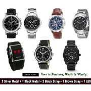 Combo of 7 Elegant Watches For Men
