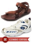 Lotto O Faachi Thunder Shoes Combo