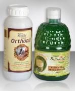 Combo Of Alovera Wheat Grass Juice & Organic Orthonil