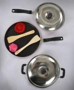Non Stick Dosa Tawa , Deep Kadhai  & Fry Pan Combo