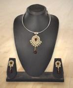 Studded Necklace Set