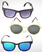 Combo Of Sunglasses, Aviator & Wayfarer Sunglasses