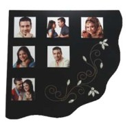 6 PC Metal Wooden Collage Frame AM-7