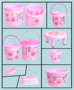 Joyo Bathroom Set  Of 10 Pcs