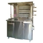 Hot King Grill Cum Shawarma Machine