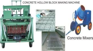 Expo Hydra Concrete Machine