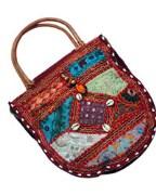 Embroidered Women Handbag