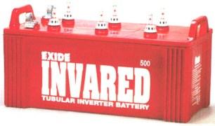Exide Invared Tubular Battery