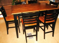 Dining Table 420/242 Wooden-6chairs