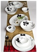 Laopala Diva 27 Pcs Opalware Dinner Set