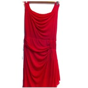 Much More 002 Womens Fall Neck Dress