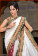 Punam Bhagalpuri Silk and Crepe Bandhej Saree