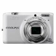 Nikon Coolpix S6500 Point & Shoot Digital Camera