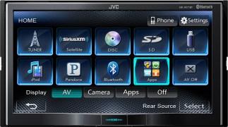 JVC KW-AV71BT Car Music System