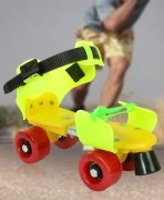 Multicolor Dry Skates