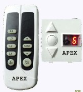Apex Remote Fan Regulater with Timer and Display