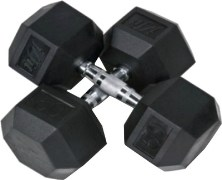 Cofit W 3141 Rubber Head Fixed Weight Dumbbell