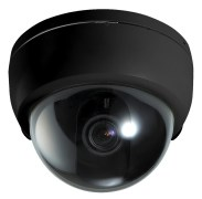 Sony Secure IR SD IR 420 eye Dome Camera Black