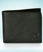 Soft Touch Black Faux Leather Wallet