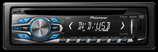Pioneer DVH-3490UB Audio System