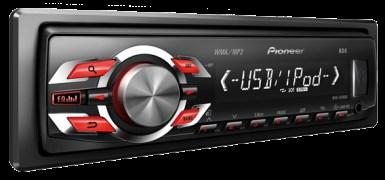 Pioneer MVH-1490UB Audio System