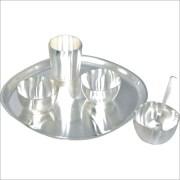Sri Sai Silver Plated Kitchen Set