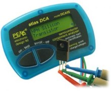 Peak Atlas DCA55- Semiconductor Component Analyser