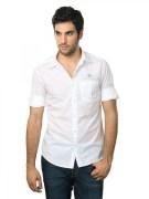 Spykar Men Style White Shirt