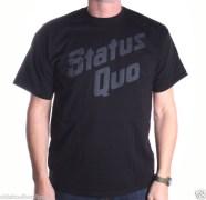 STATUS QUO T shirt Retro Rock