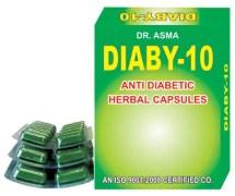 Dr. Asma Herbals Diaby-10 Anti Diabetic Capsules