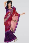 Triveni Embroidered Saree - Mksp