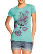 Flowers of Peace Women T-shirt