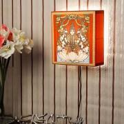 Jhugnoo Tanjore Box Light - Laxmi