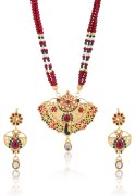 Asian Pearls Multi Necklace Set