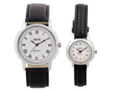 Zion Zdc-154 Couple Bhandhen Watch Combo