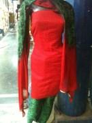Gupta Glaze Cotton Suit With Pure Chiffon Dupatta