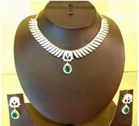 Wild West Hi Fashion Jewelers Zircon Diamond Necklace