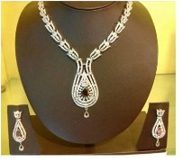 Wild West Hi Fashion Jewellers Zircon Diamond Necklace