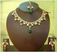 Wild West Antique Gujarathi Design Necklace