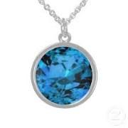 Zircon Stone Necklace