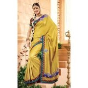 Vipul Printed Art Silk Saree