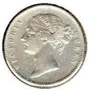 HVJ Queen victoria silver coin HVJCOIN001