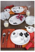 Laopala Diva 35 Pcs Opalware Dinner Set